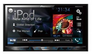 Pioneer AVH-X5780TV – DVD Player com TV Digital, conexão Bluetooth, entrada USB e interface para iPod/iPhone
