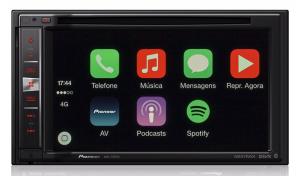 Pioneer AVIC-F970TV - Central Multimídia com GPS, TV Digital Integrada, Bluetooth e entrada USB