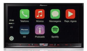 Pioneer AVIC-F70TV - Central Multimídia com GPS, TV Digital Integrada, Bluetooth e entrada USB