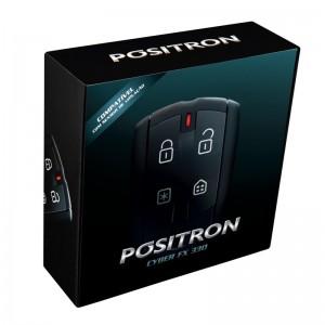 Alarme Positron Cyber FX 330 é compatível com sensor de violação: aviso em caso de violação do estepe, porta-luvas, bagageiro de teto, entre outros!